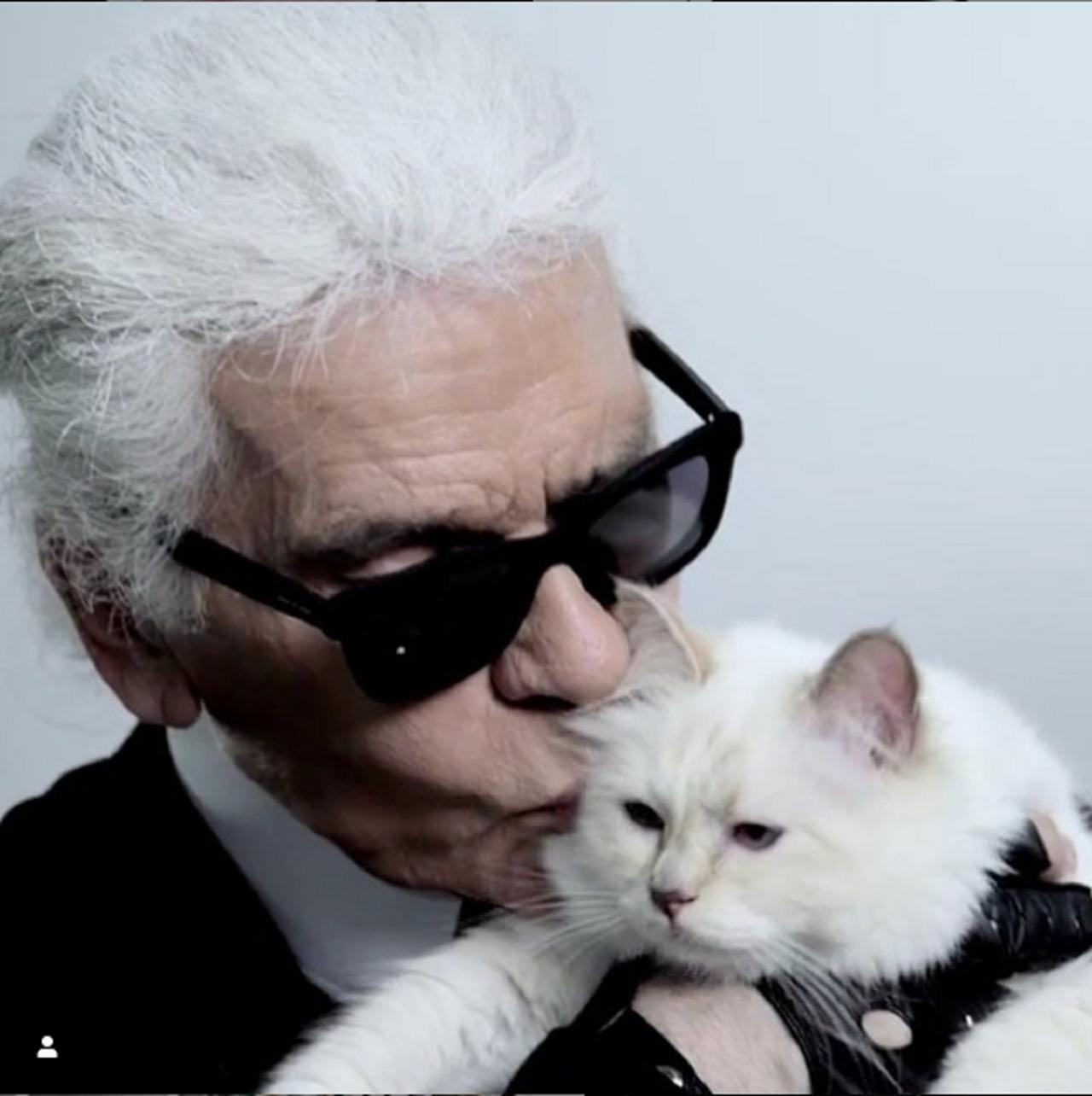 時尚大帝「老佛爺」卡爾.拉格斐(Karl Lagerfeld),台灣時間2月19...