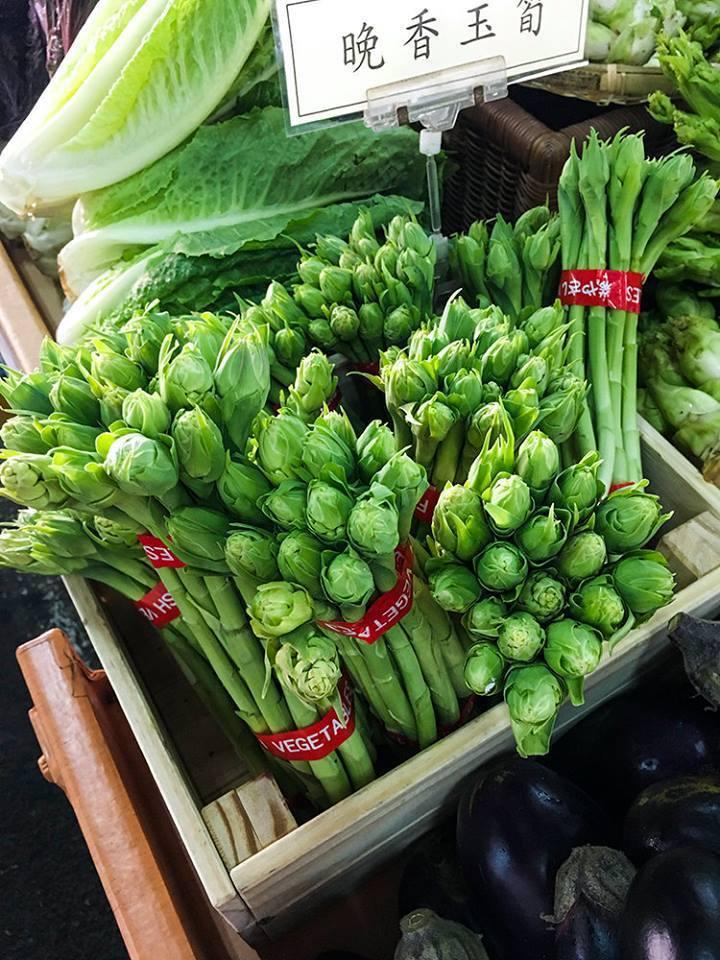 晚香玉筍常見在法式料理入菜,台東縣政府農業處有意推廣農民種植。圖/林建宏提供