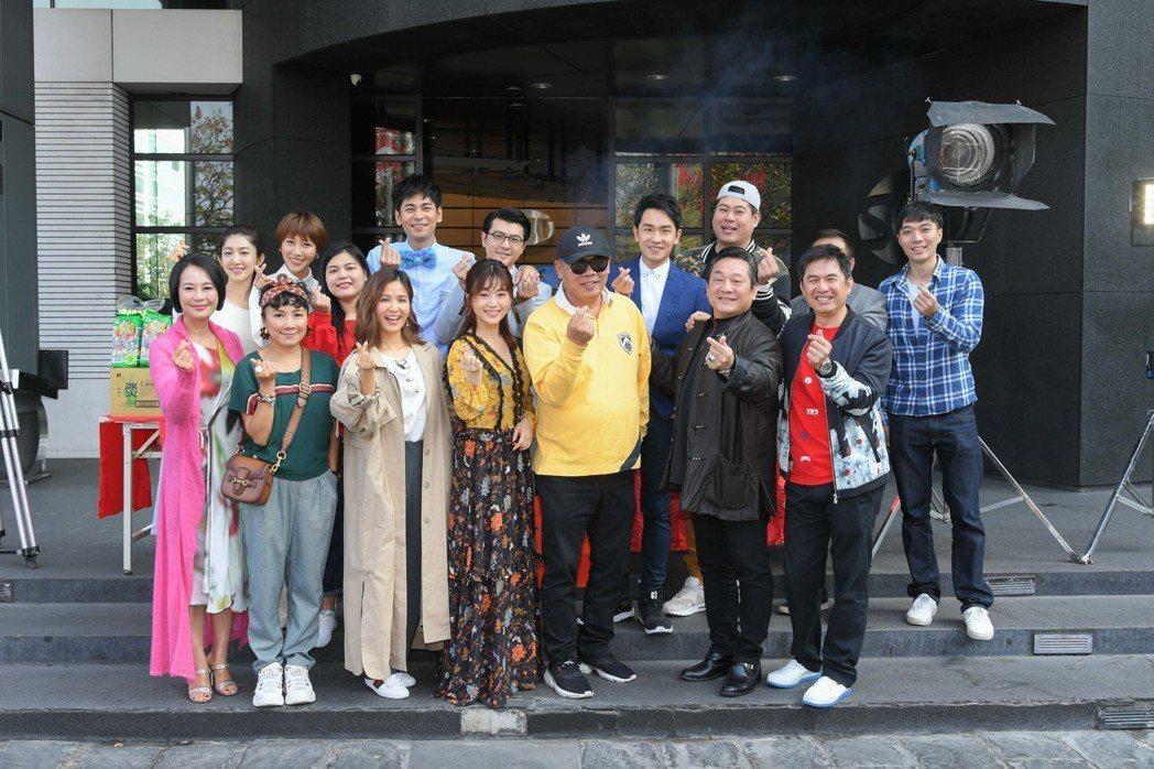 作三立台灣好戲「金蕉歲月」昨開鏡。圖/三立提供