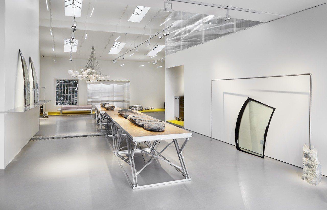 MCM「1976柏林」以品牌創立的年份為名打造全球首家概念店。圖/MCM提供