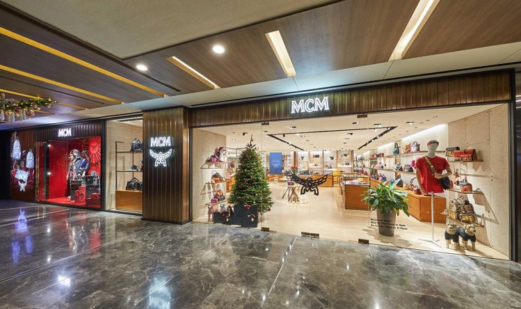 MCM Haus是旗艦店的規模。圖/MCM提供