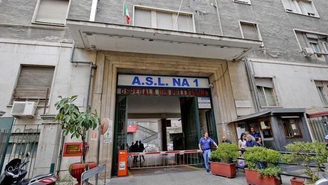 義大利那不勒斯的Vecchio Pellegrini醫院。摘自泰晤士報網站