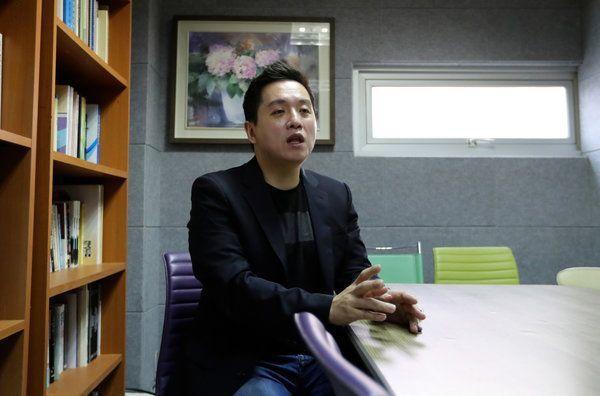 韓國軍隊人權中心負責人林泰勳。(美聯社)