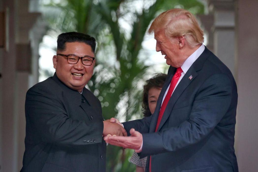 一些分析人士認為,川金二會將正式宣告韓戰結束。(路透)