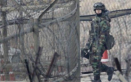 南韓義務役軍人通常是在兩韓邊界重兵駐守的偏遠營區服役。(路透)