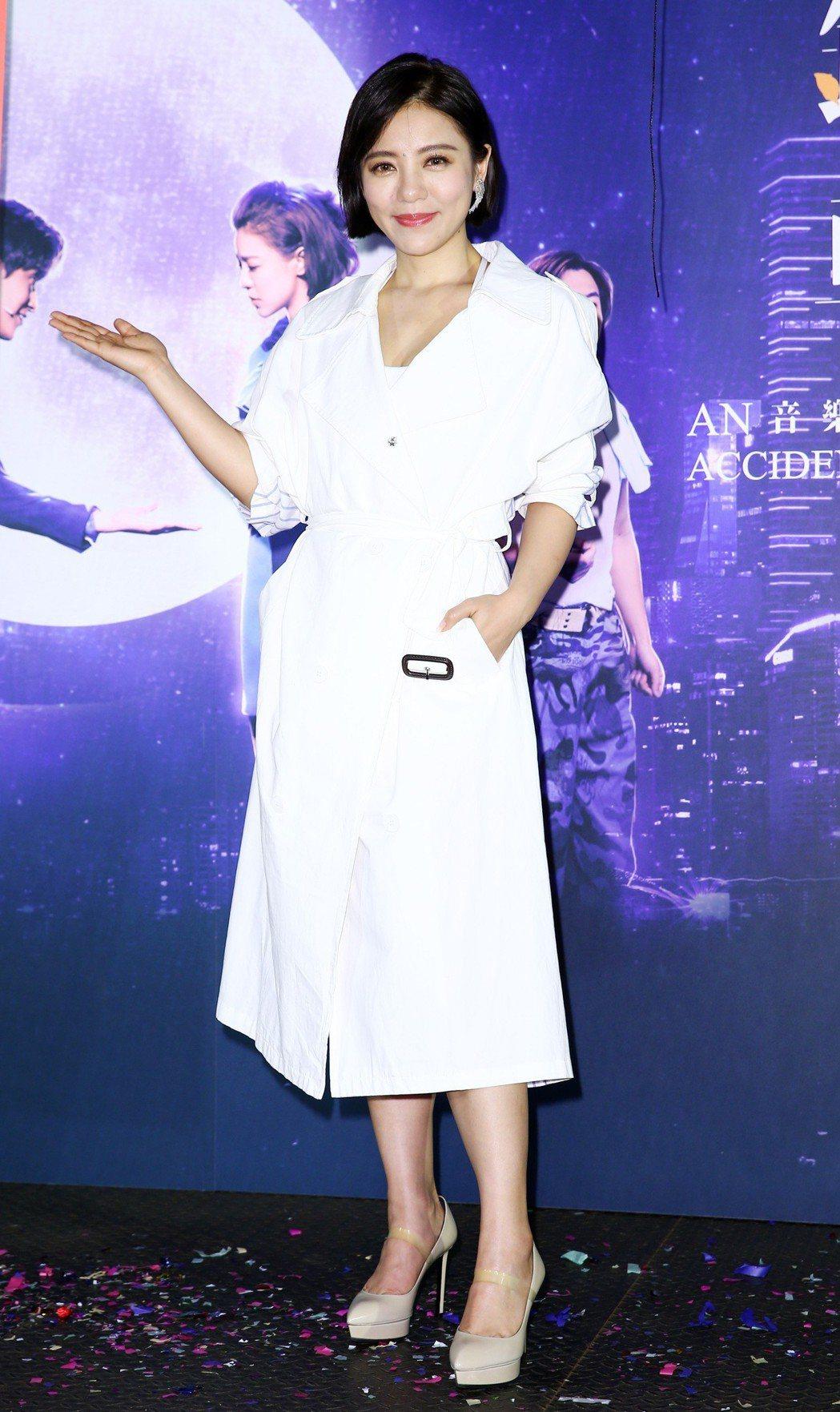 音樂劇《搭錯車》在台北舉行慶功記者會宣布再加場,劇中女主角丁噹在記者會上用尖叫聲...