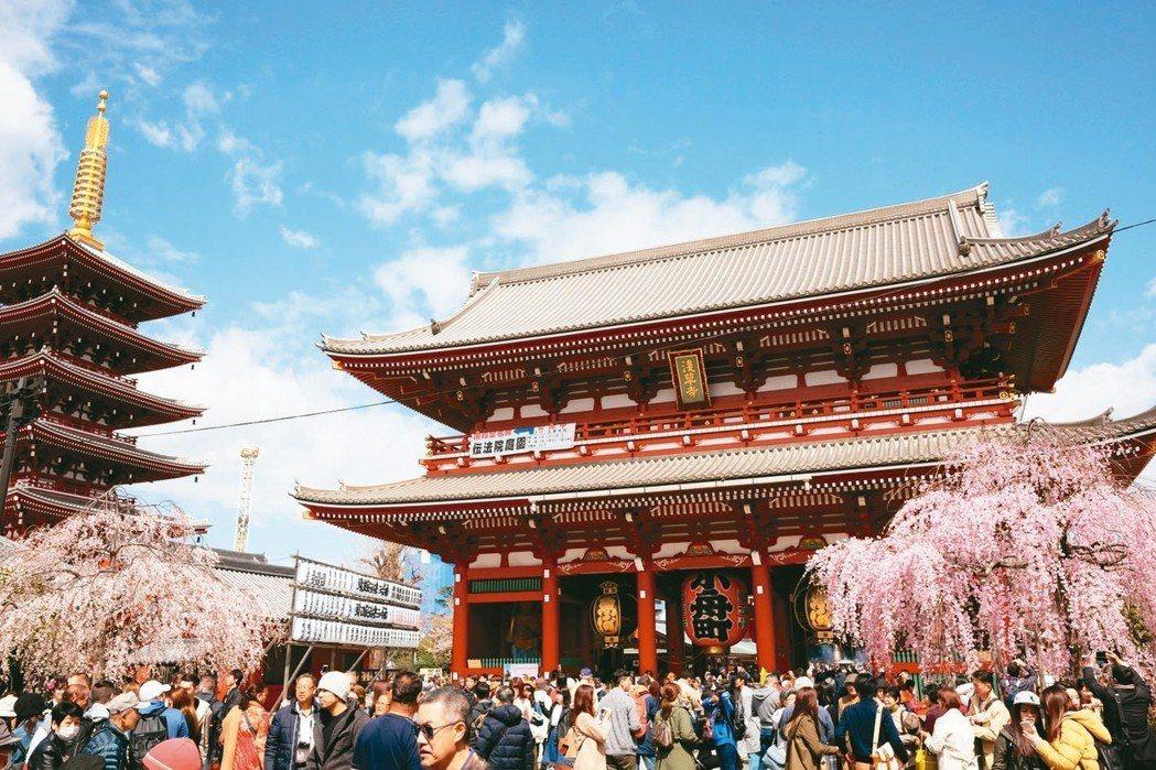 日本內需市場好轉,帶動以中小型股為主的消費類股上漲。 (聯合報系資料庫)