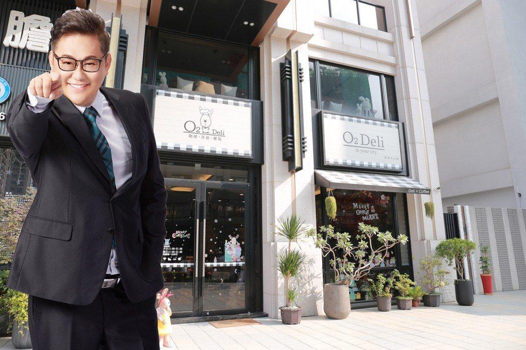 蔡坤宏年輕有為,投資房地產快、狠、準。 攝影/張世雅