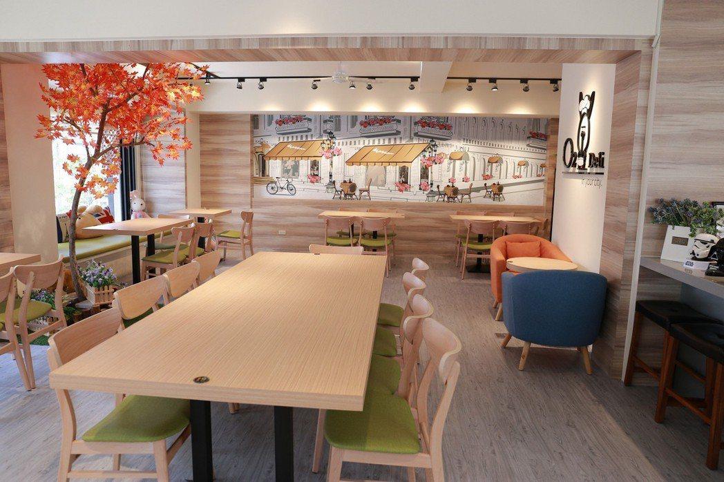 聚餐兼開會的空間。 攝影/張世雅
