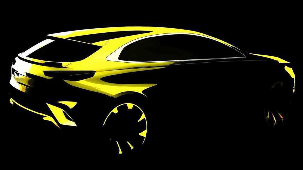 全新Kia XCeed的設計草圖。 摘自Kia