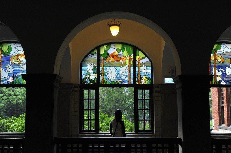 北投溫泉博物館,原為1913年興建的北投溫泉公共浴場。 圖/新華社