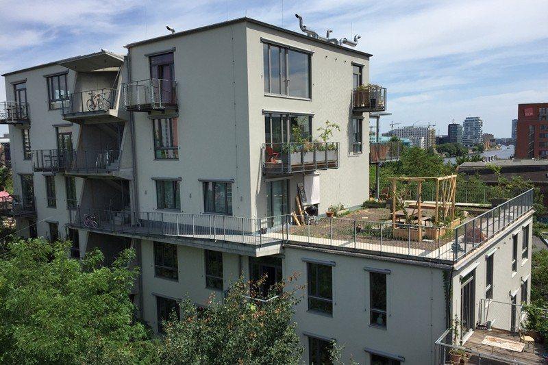 德國柏林的River Spreefeld,是德國近年相當成功的合作住宅。 圖/劉玫君提供