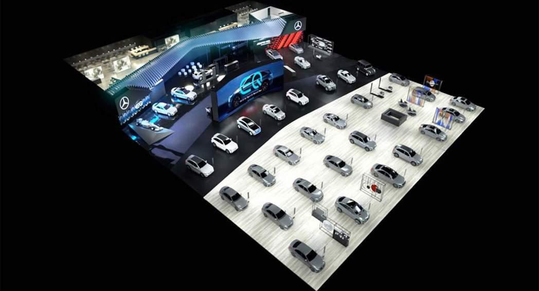 Mercedes-Benz在德國時間20日公佈了今年日內瓦車展的參展陣容。 摘自...