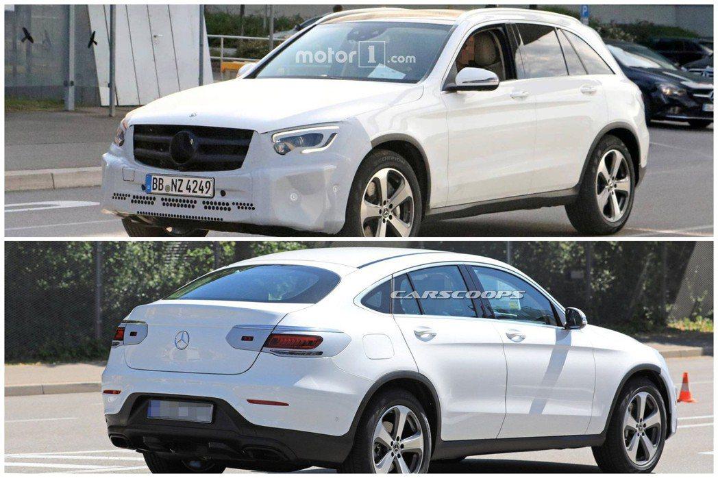 小改款Mercedes-Benz GLC將於日內瓦車展正式亮相,但目前還不確定G...