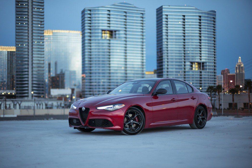 Alfa Romeo Giulia Quadrifoglio擁有十分強悍的性能。...