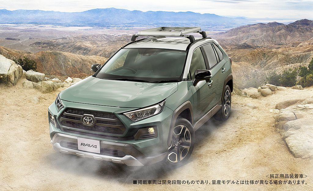 除TRD、Modellista套件外,Toyota汽車也會推出其他配備提供車主選...