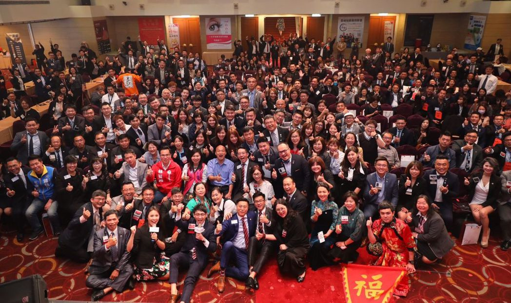 BNI中心區年會舉行「2019 INW國際人脈交流週」,共有來自海內外400餘位...