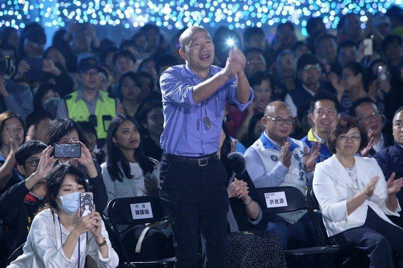 高雄市長韓國瑜上任不久旋即喊話,要爭取「放寬中資投資高雄、並購買房地產」。 圖/...