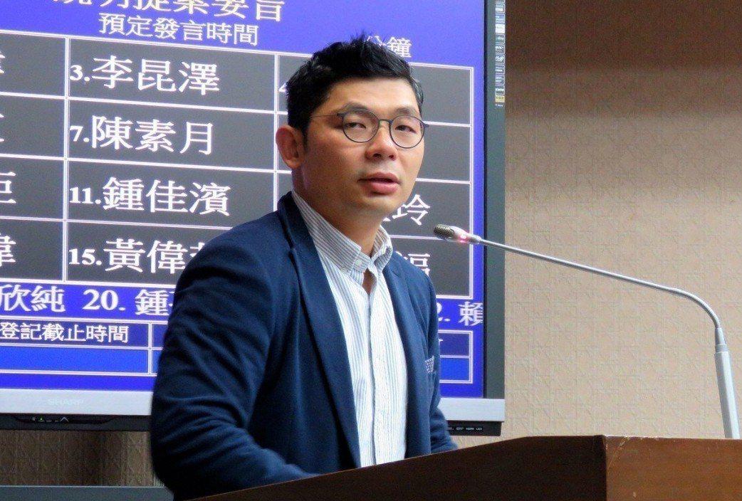 國民黨立委許毓仁。 圖/聯合報系資料照