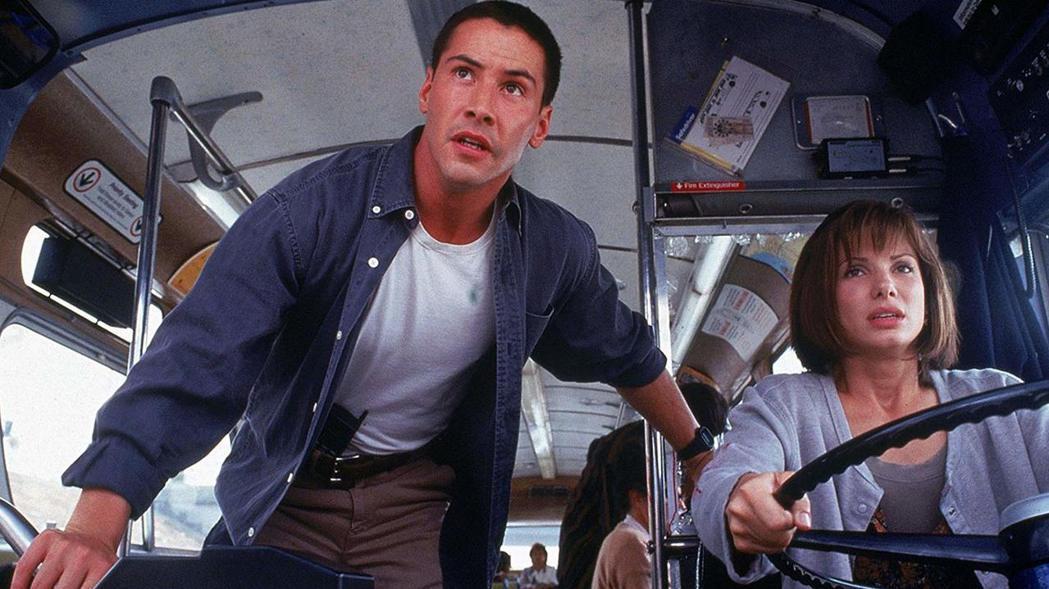基努李維與珊卓布拉克都因「捍衛戰警」走紅。圖/摘自imdb