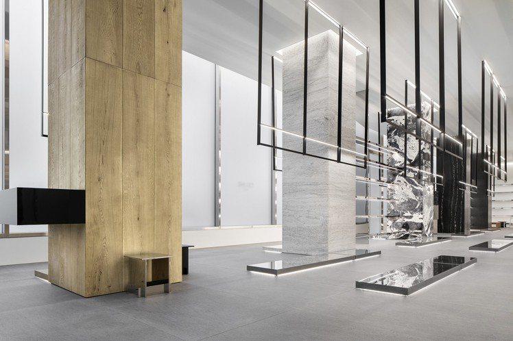 紐約麥迪遜概念店占地150坪,是目前CELINE的全球最大店鋪。圖/CELINE...