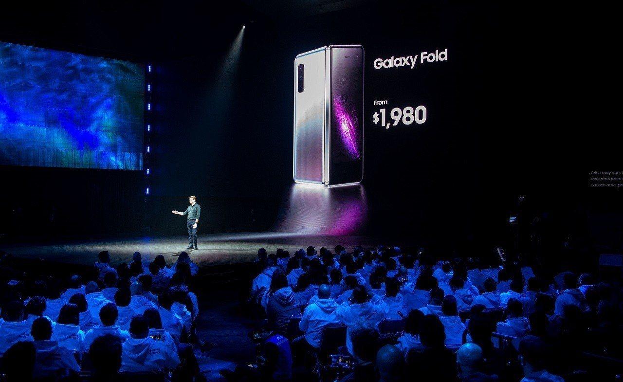 三星產品行銷副總丹尼森(Justin Denison)20日在美國加州舊金山舉行...