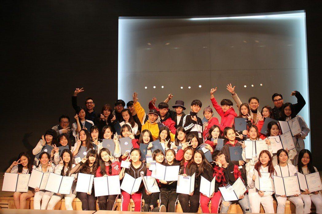 阿爾發每年都會舉辦「首爾造星學校訓練營」吸引不少有星夢的孩子參加    圖/阿爾...