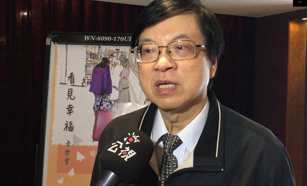 台北馬偕醫院內科部主任王鴻源。 記者鄧桂芬/攝影