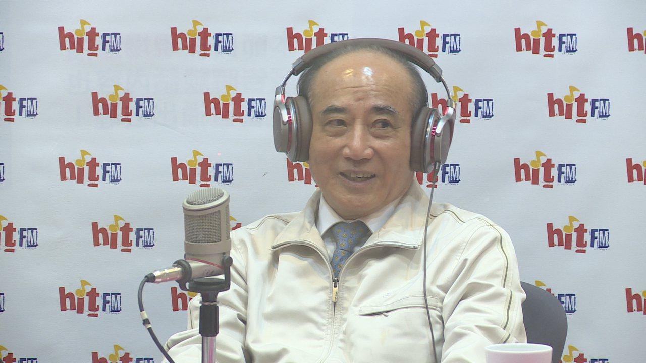 立法院前院長王金平上午接受電台專訪時表示,「徵召韓國瑜是假議題,現在不便回答,會...