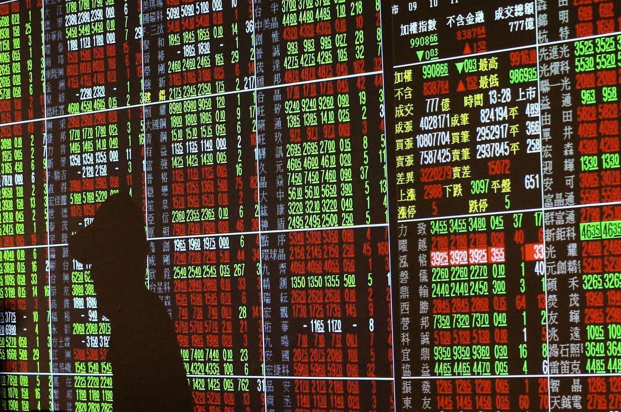 台股22日來到4個多月高點,日線連5紅,週線連2紅。 報系資料照