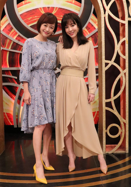 茵芙(左)和張艾亞一起上利菁的「麻辣天后傳」。圖/中天提供