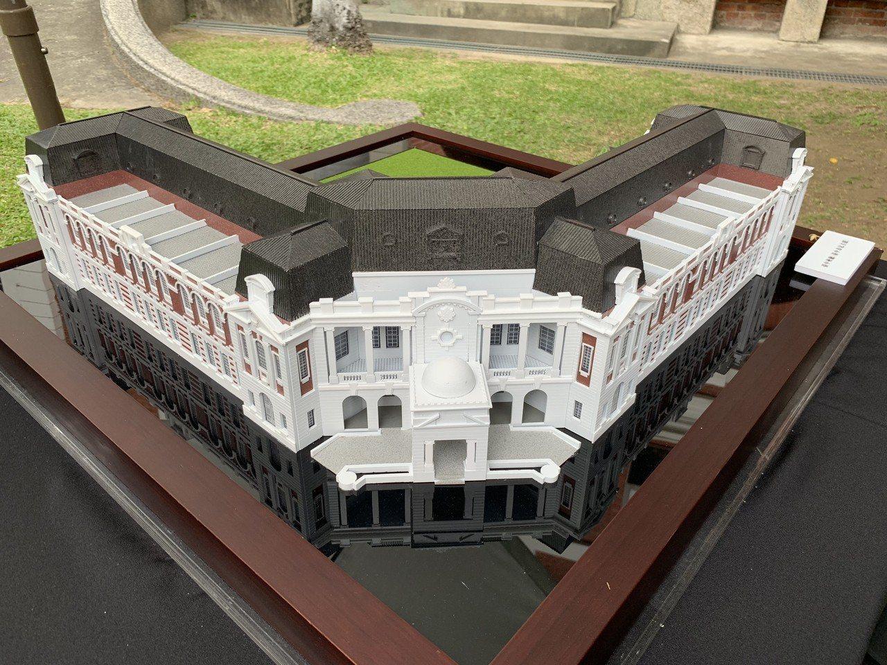 百年歷史的「台中州廳」爭取到前瞻經費修繕,本來要與文化部合作變成「國美館二館」,...