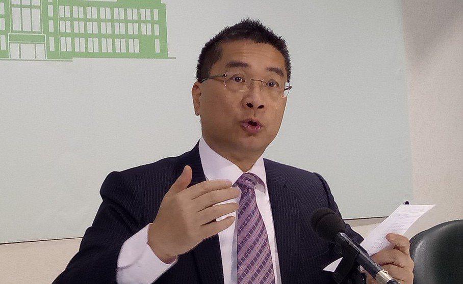 賴內閣的行政院前發言人徐國勇,勇於為老闆擋子彈。 圖/聯合報系資料照片