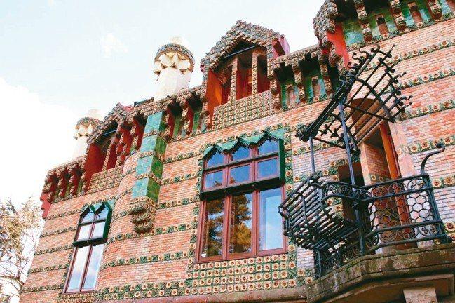 建築大師-安東尼.高第在北西班牙極少數作品的一隅。 圖/陳志光