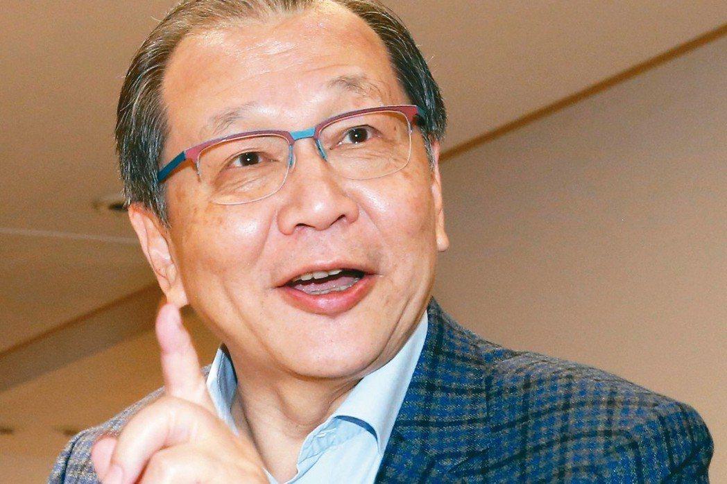 聯發科執行長蔡力行 記者林俊良/攝影
