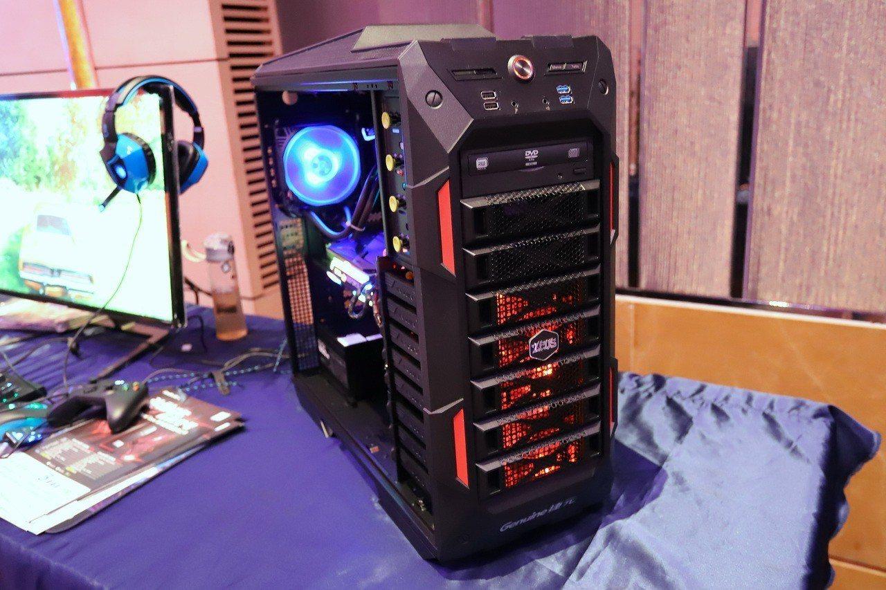 新一代捷元宙斯旗艦X採用英特爾第9代頂規Core i9-9820X處理器及NVI...