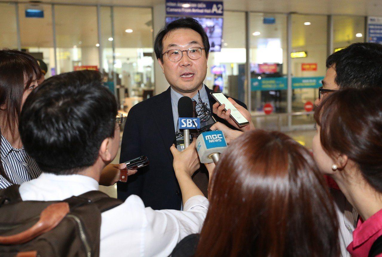 外交部韓半島和平交涉本部長李度勳。 歐新社