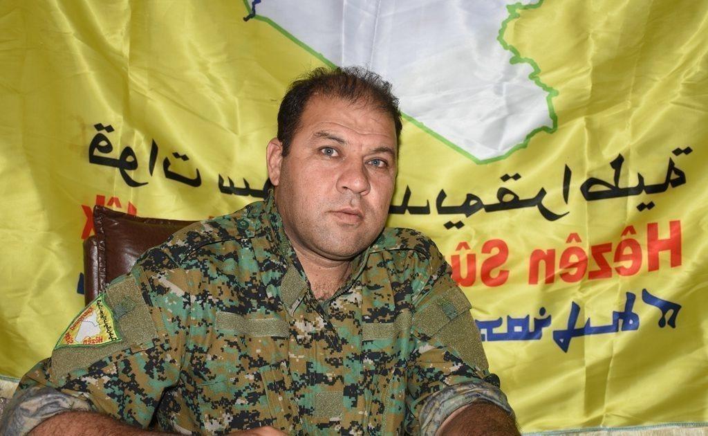 敘利亞武裝部隊敘利亞民主力量(SDF)發言人巴利(Mustafa Bali)。 ...