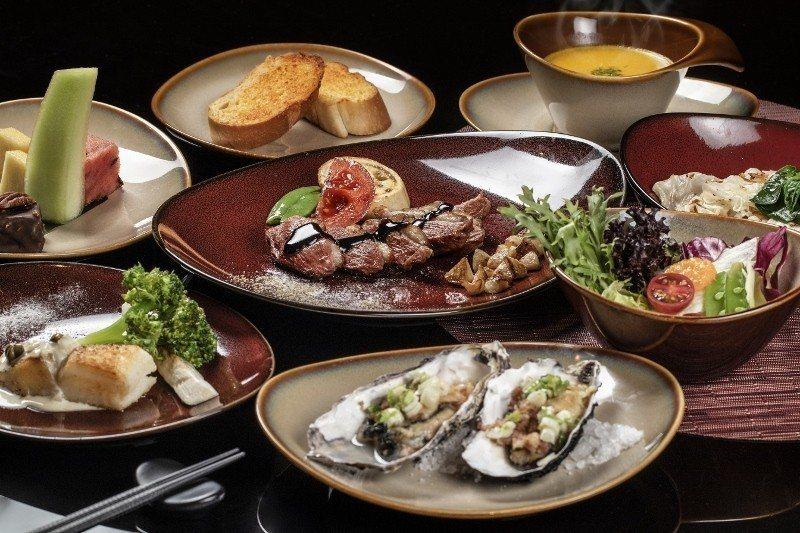 980元的櫻桃鴨胸鐵板燒套餐。 台南大員皇冠假日酒店/提供