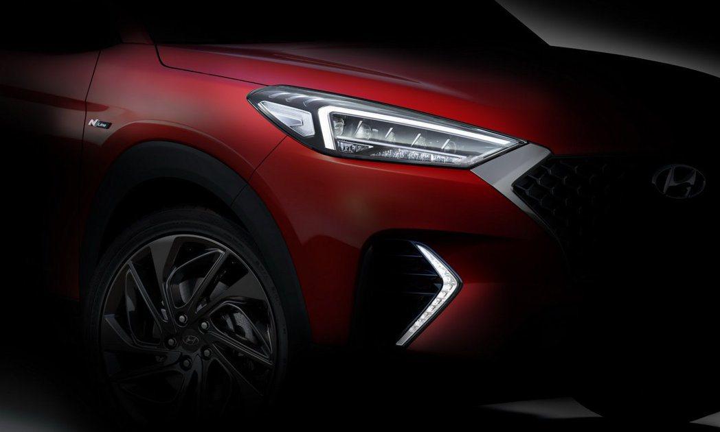 Hyundai釋出Tucson N Line的首張預告照! 摘自Hyundai