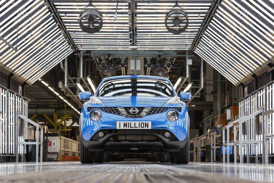 前衛的外觀造型一直是Nissan Juke的話題焦點。 摘自Nissan