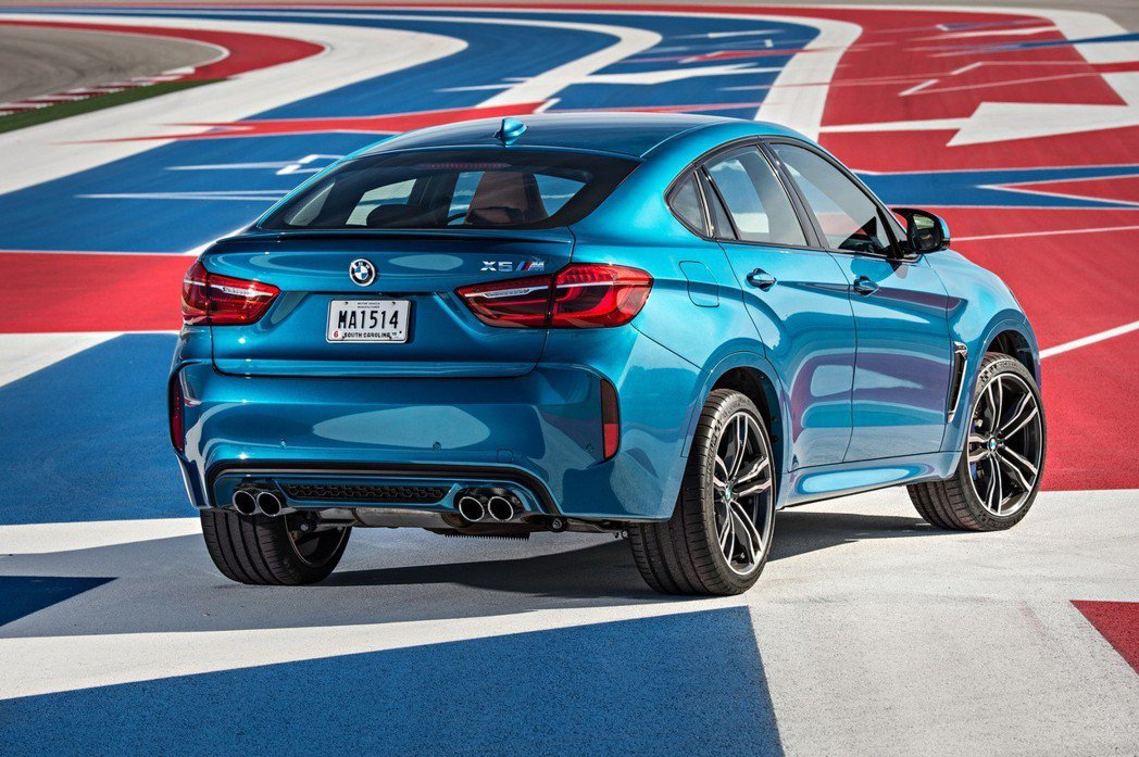 現行BMW X6 M。 摘自BMW