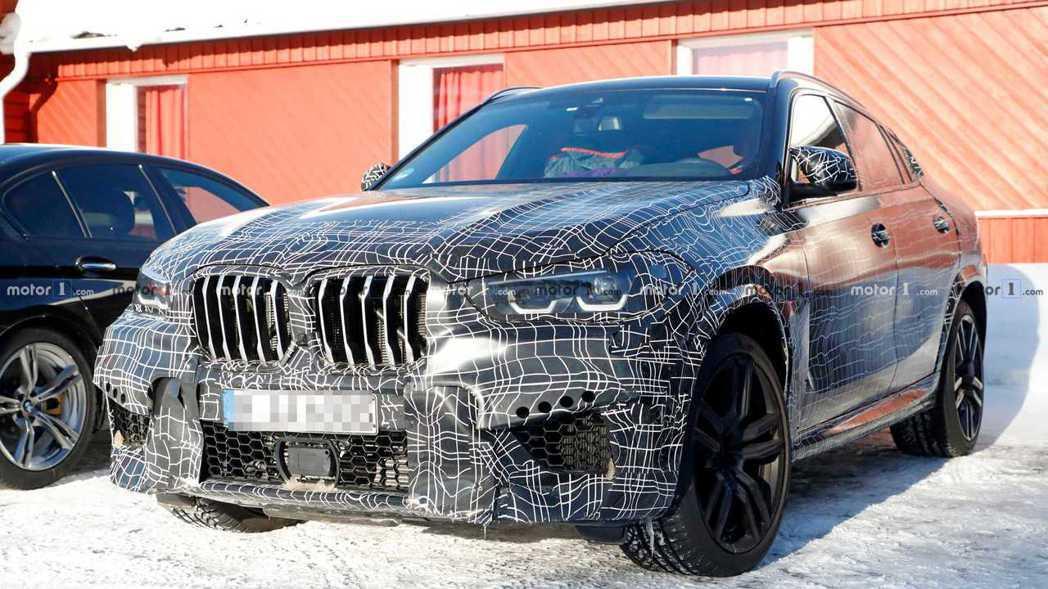 大改款BMW X6 M將緊接著新世代X6發表後亮相。 摘自Motor 1