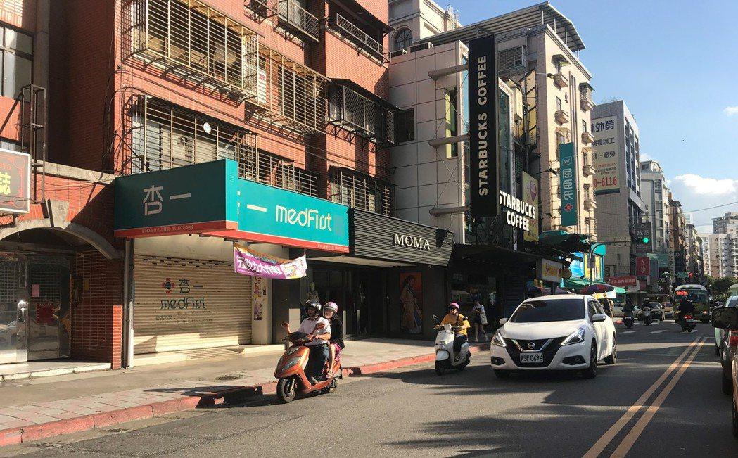 圖為台北市吳興街。記者游智文/攝影