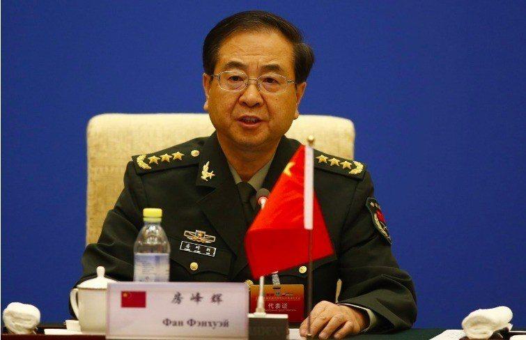 中共前聯合參謀部參謀長房峰輝。中新社