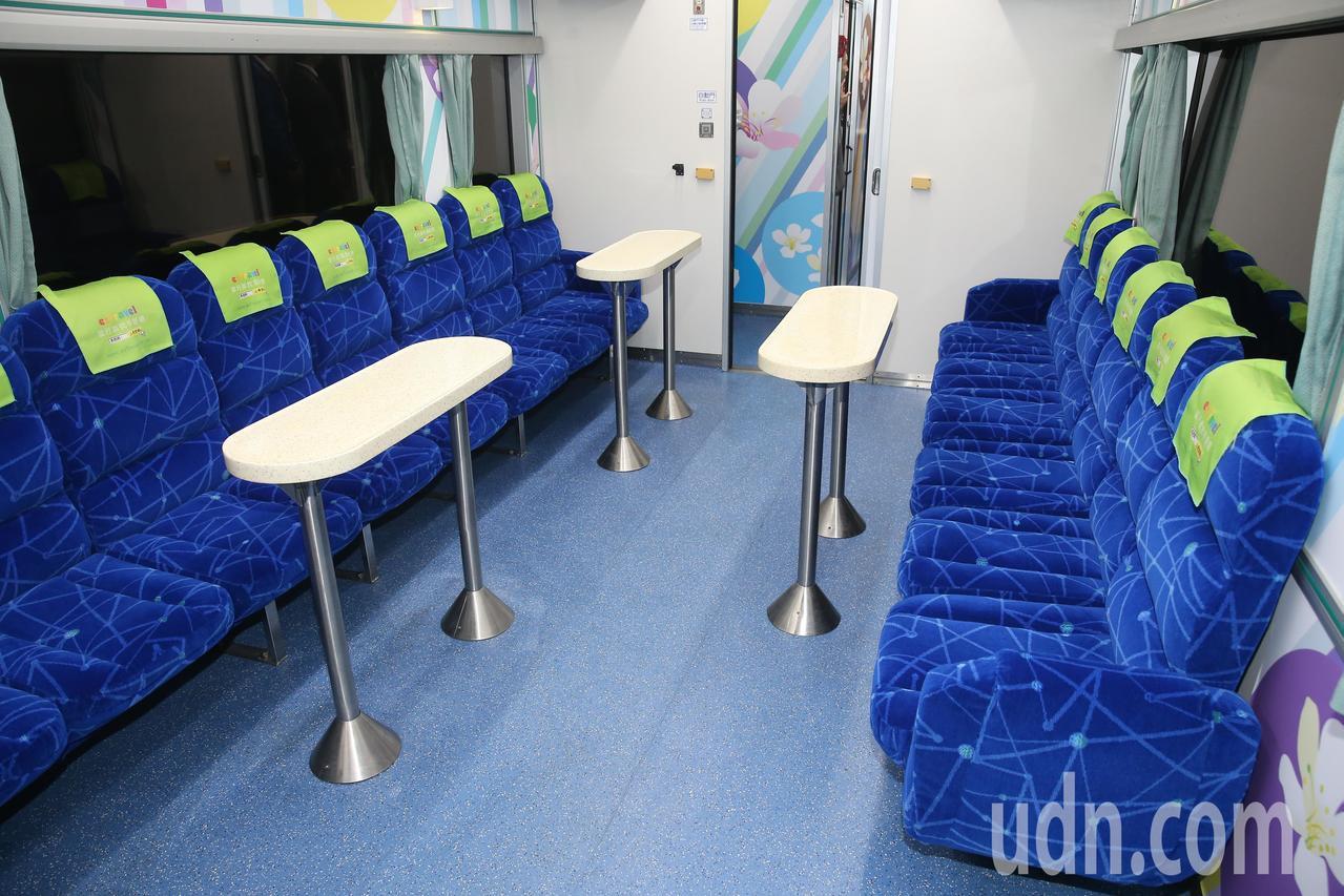 台鐵觀光列車換新裝。本報資料照片