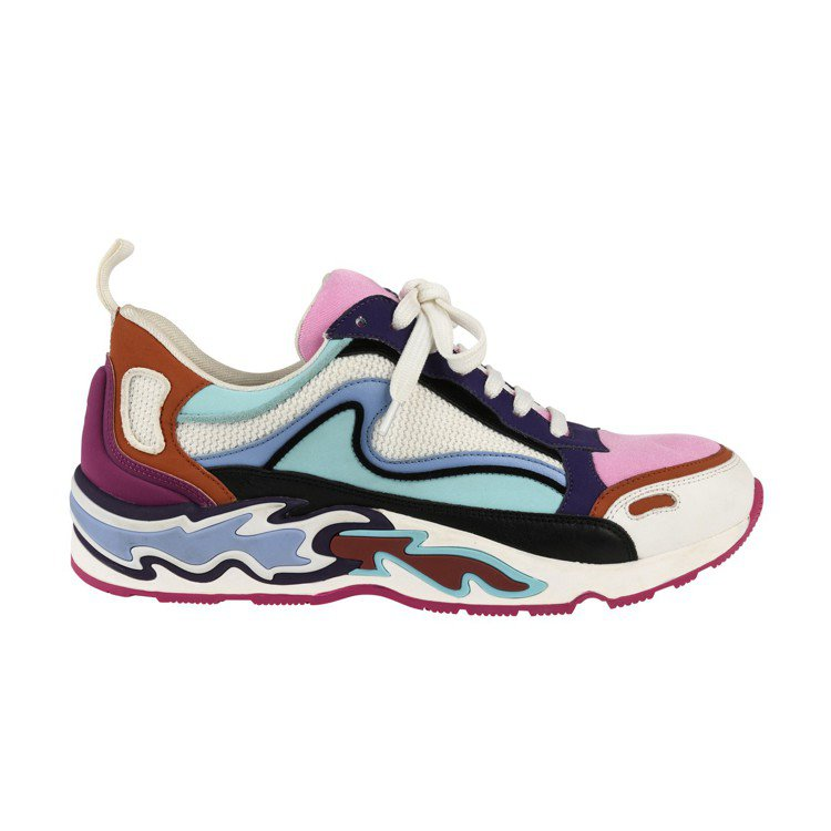 Sandro Flame彩色運動鞋,售價6,630元。圖/Sandro提供