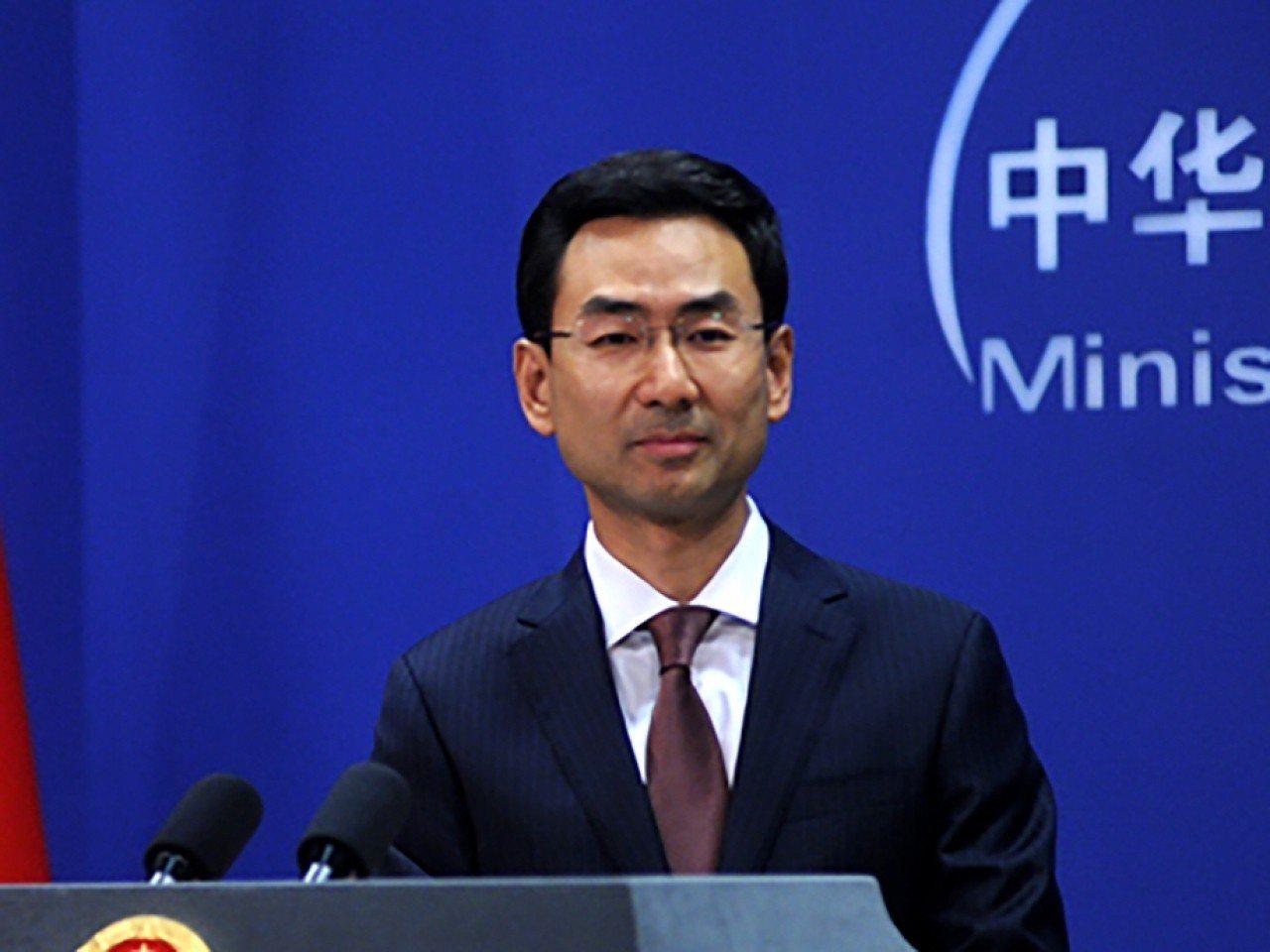 中國外交部發言人耿爽。圖/香港電台