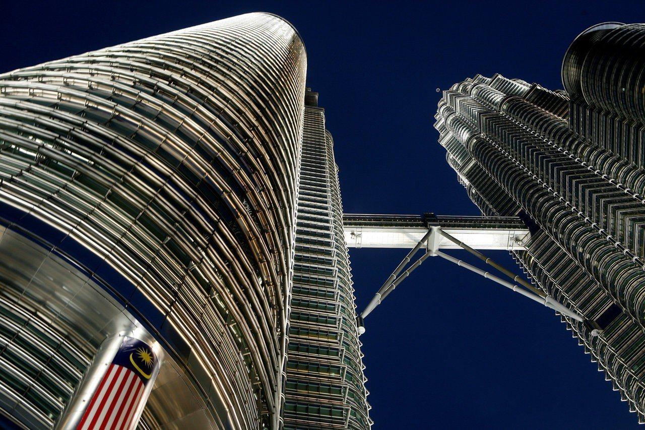 圖為馬來西亞雙子星大樓。路透社