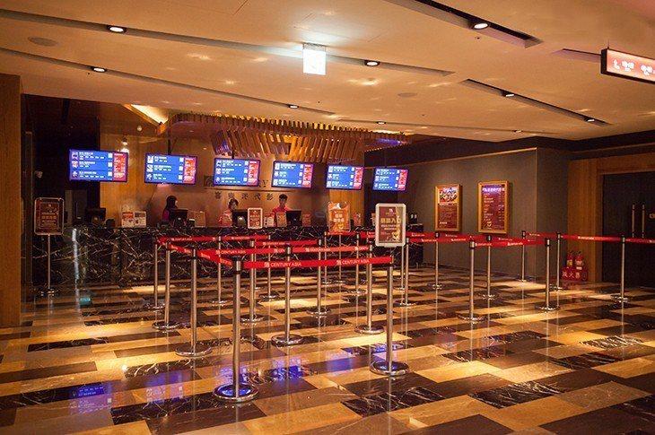 喜樂時代影城永和店位於比漾廣場4樓。圖/喜樂時代影城提供